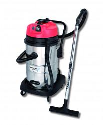 Aspirateur eau et poussières 50L inox + prise machine «ASPIRIX50»