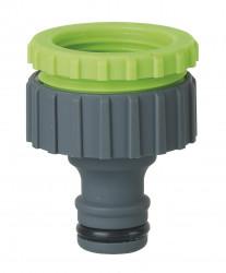 Nez de robinet fil.F  3/4 et 1 avec colerette et display box
