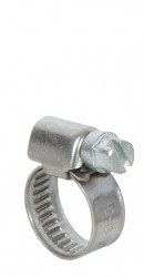 Colliers de serrage inox largeur 9mm diam.10-16mm en lot de 2