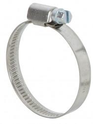 Colliers de serrage inox largeur 9mm diam.32-50mm en lot de 2