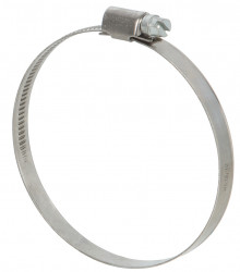 Colliers de serrage inox largeur 9mm diam.70-90mm en lot de 2