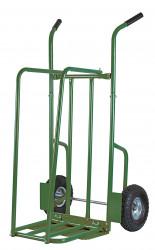 Chariot à bûches roues gonflables charge 250kgs