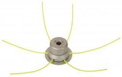 Tête de débroussailleuse universelle métal RAZERB PRO + 3 fils carrés