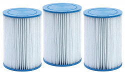 Cartouches filtrantes par 3 pces