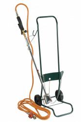 Kit desherbage avec flexible 2m + détendeur + chariot