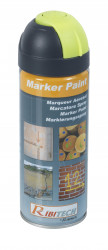 Marqueur jaune fluo en spray 400ml