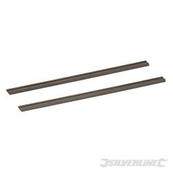 2 fers de rabot TCT 82 x 5.5 x 1,1 mm