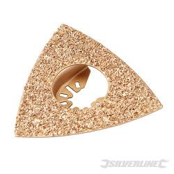 Râpe à concrétion carbure triangulaire 80 mm