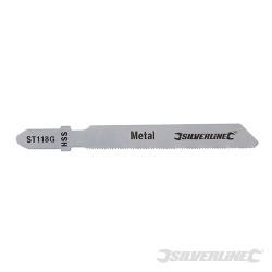 5 lames de scie sauteuse pour le métal ST118G