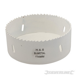 Scie-cloche bi-métal 114 mm