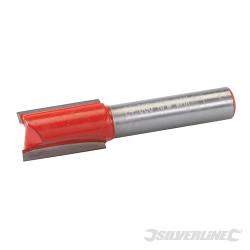 Fraise droite de 8 mm métrique 12 x 20 mm