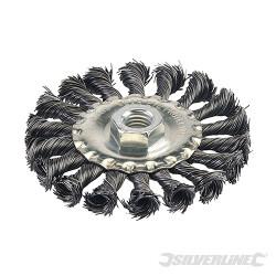 Roue à fils d'acier torsadés 100 mm