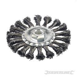 Roue à fils d'acier torsadés 115 mm