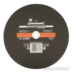 Disque plat à tronçonner le métal usage intensif 300 x 3 x 20 mm