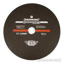 Disque plat à tronçonner le métal usage intensif 355 x 3,2 x 25,4 mm