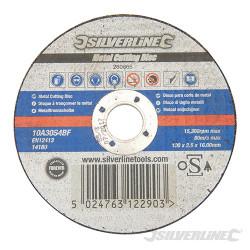 Disque à tronçonner le métal certifié OSA 100 x 2,5 x 16 mm