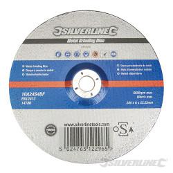 Disque à meuler le métal certifié OSA 230 x 6 x 22,23 mm