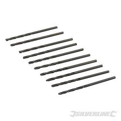 10 mèches métriques acier rapide HSS-R 2,0 mm