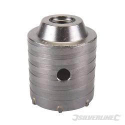 Scie trépan carbure de tungstène 60 mm