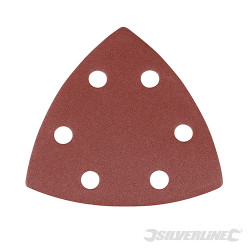 10 feuilles abrasives triangulaires auto-agrippantes 90 mm Grain 240