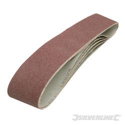 5 bandes abrasives 100 x 915 mm Grain 80