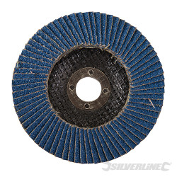 Disque à lamelles en zirconium 100 mm Grain 40