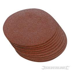 10 disques abrasifs auto-agrippants 300 mm Grain 60