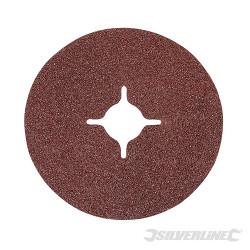 10 disques en fibre 115 x 22,23 mm Grain 60