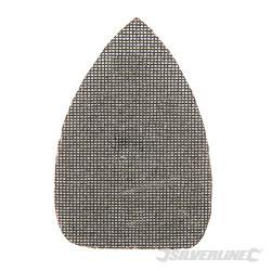 Lot de 10 triangles abrasifs treillis auto-agrippants 140 x 100 mm Grain 120