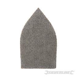 Lot de 10 triangles abrasifs treillis auto-agrippants 175 x 105 mm Grain 180