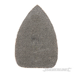 Lot de 10 triangles abrasifs treillis auto-agrippants 140 x 100 mm Grain 180