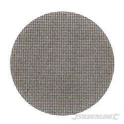 Lot de 10 disques abrasifs treillis auto-agrippants 150 mm Grain 80