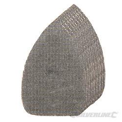 Lot de 10 triangles abrasifs treillis auto-agrippants 150 x 100 mm Grains assortis