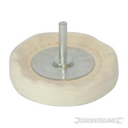 Roue de polissage à disques empilés 75 x 12 mm