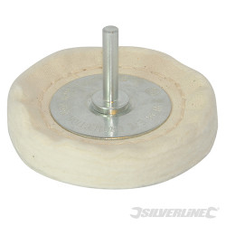 Roue de polissage à disques empilés 100 x 15 mm