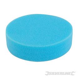 Éponge de polissage auto-agrippante Médium, bleue, 150 mm