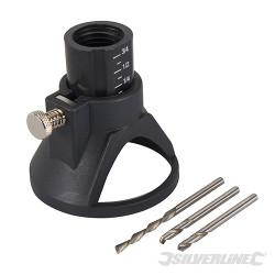 Ensemble de coupe pour outil rotatif 4 pcs 3,17 mm (1/8