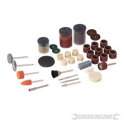 Ensemble de 105 accessoires pour outil rotatif Tige 3,17 mm