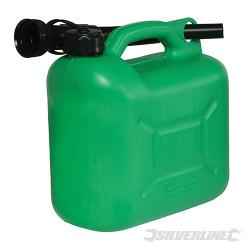 Bidon à carburant plastique 5 L Vert