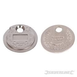Cale d'épaisseur pour bougie d'allumage 0,5 - 2,55 mm