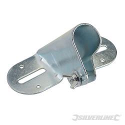 Douille métallique pour manche à balai 26 - 29 mm (1-1/8