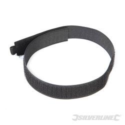 10 serre-câbles autoagrippants 450 mm noir