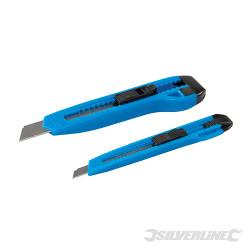 Jeu de 2 cutters plastique 18 mm et 9 mm