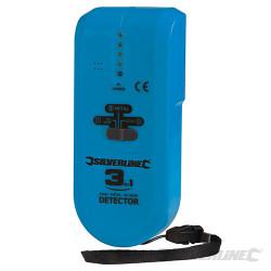 Détecteur 3-en-1 compact 1 pile 9 V (PP3)