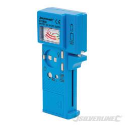 Testeur de piles, fusibles et ampoules 1,5 V - 9 V