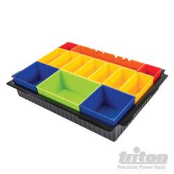 Inserts individuels pour boîte de rangement TLOCBOX Inserts de boite individuels