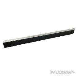 Bas de porte de garage aluminium et brosse 50 mm 2 134 mm aluminium