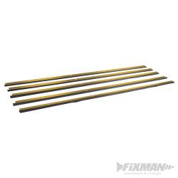 Bas de porte usage intensif doré 4 x 1029 mm et 1 x 914 mm