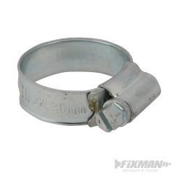 10 colliers de serrage 22 - 30 mm (1A)