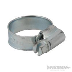 10 colliers de serrage 16 - 22 mm